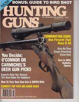 Magazine Hunting Guns, 1990, Deer Gun picks ! 90 pages !  /q4