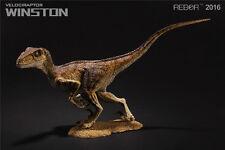REBOR Velociraptor Winston PVC 1/18 Dinosaur Museum Class Model