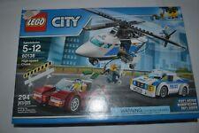 2017 LEGO CITY HIGH SPEED CHASE 294 PCS. # 60138 DAMAGED BOX SEALED !!