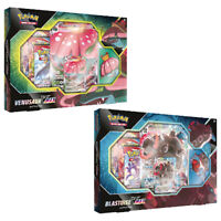 Pokemon TCG : 2x VMAX Collection Boxes : Venusaur & Blastoise : One of each