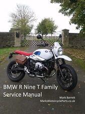 BMW RNineT R9T Pure Racer Scrambler Urban G/S Service Workshop Owners Manual