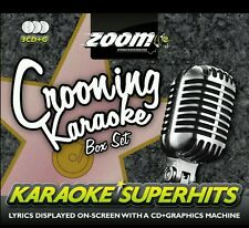 Zoom KARAOKE CDG crooning SUPERHITS BOX SET 3 DISCO CANZONE 75