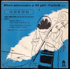 LOUIS ARMSTRONG DISCO 45 GIRI E.P. KEYHOLE BLUES - ODEON DSEQ 402