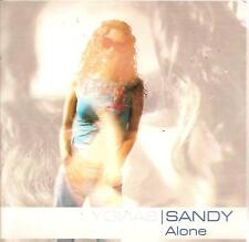 SANDY - alone CD SINGLE eurodance 2001 XANDEE RARE!!