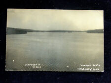 1910 RPPC BEV Looking South Lake Hopatcong NJ by Harris