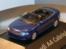 Herpa audi a4 cabrio (MJ 02) azul-met. - PC 25761