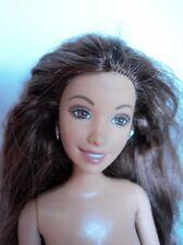 Mattel Barbie doll friend SUMMER teen fashion TATTOO & flat beachy painted toes