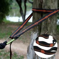 Adjustable Hammock Hanging Tree Strap Outdoor Camping Portable 280cm