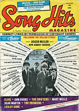 original USA 1964 Song Hits Magazine Vol. 28 No.9  Rolling Stones etc.