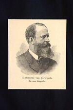 Il ministro von Berlepsch