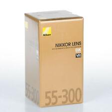 NUEVO NIKON AF-S DX NIKKOR 55-300MM F/4.5-5.6G ED VR OBJETIVO