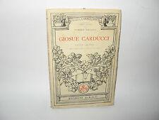 GIOSUE CARDUCCI saggio critico - D.Baccini [C.E.L.I. 1947]
