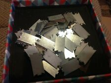"""New listing 1-1/2"""" x 3"""" Safety Nail Plates 18 gauge Lot of 50 - Protector with Nailing Spurs"""