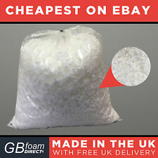15kg Pure White Foam Crumb | Bean Bag | Cushion Filling Stuffing | Best Quality