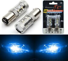 LED Light 50W 1157 Blue 10000K Two Bulbs Front Turn Signal Replace Show Use Lamp