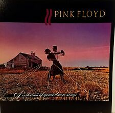 PINK FLOYD 'A Collection ' Album flat suitable for framing 1981 Mint!