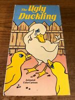 The Ugly Duckling VHS VCR Video Tape Movie Used Cartoon