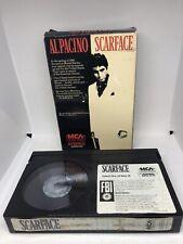 RARE Scarface Beta Betamax Tape Not VHS Al Pacino