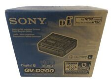 Sony GV-D200 Digital Hi8 Video 8 Player Recorder VCR Deck