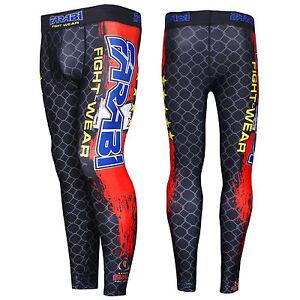 Farabi Compression Trouser MMA Base Layer Fitness Tight Skin Sports Pants