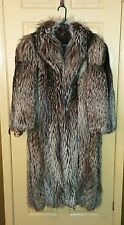 Beautiful Full Length Crystal Fox Fur Coat