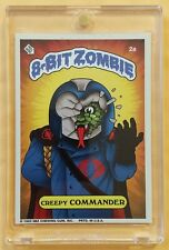8-BIT ZOMBIE CREEPY COMMANDER (2a) - SDCC GPK / GI JOE PARODY CARD 8BZ RARE HTF