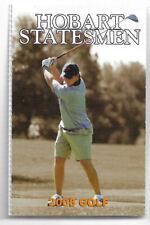 2008 Hobart Statesmen College Golf Rowing Schedule !!!