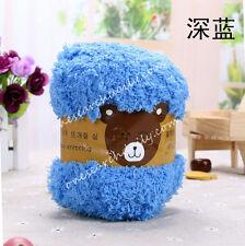 Super soft Yarn Dk Double Knitting Chunky Towelling Wool Ball Skeins Yarn 50g Z