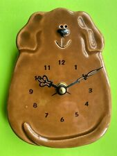 Brown Dog - Wall Clock