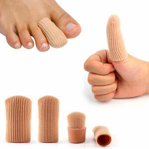 Fingerkappen Zehenschutz Kappen Silikon Schlauchbandage Fingerkuppen Bandage Gel