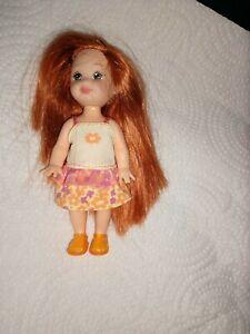 MATTEL Barbie KELLY  RED HAIR  4 INCH DOLL