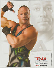 Rob Van Dam Officially Licensed TNA Wrestling Promo Photo