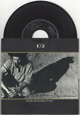 "U2 ""With Or Without You"" 7"" vinyl Bono The Edge"