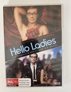 Hello Ladies - The Complete Series & Movie (3 Disc DVD) Stephen Merchant HBO!