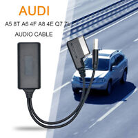 AUX Audio Cable Bluetooth Adapter for Audi A5 8T A6 4F A8 4E Q7 7L  2G AMI MMI