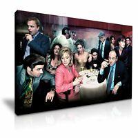 "The Sopranos Colour Canvas WALL ART ""20X30"" INCHES"