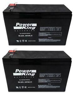 Razor Pocket Sport Mod MX350 Replacement Batteries (2) 12V7ah