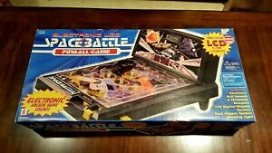 1997 LCD Electronic Space Battle Pinball Game