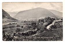 View From Laragh Road Photo Postcard c1910 Glendalough Wicklow