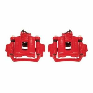 Power Stop Rear Red Calipers w/Brackets - Pair for 03-09 Toyota 4Runner