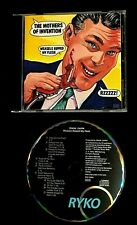 1990 MOTHERS INVENTION WEASELS EXCITING NO BAR CODE ZAPPA'S 25TH ANNIVERSARY CD