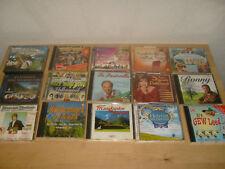 Sammlung Volkslieder CD mit CD-Regal