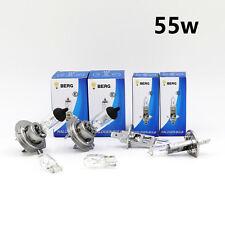 H1 H7 T10 55w CLEAR HALOGEN Head light Bulbs Set HIGH LOW Beam ROAD LEGAL MOT