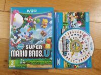 New Super Mario Bros U - Nintendo Wii U Game VGC Complete