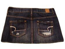 AMERICAN EAGLE Denim Micro Mini Skirt Size 2