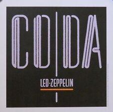 LED ZEPPELIN, MINI CODA POSTER (C14)