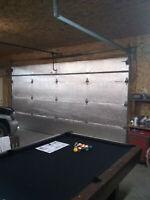US Energy Premium Garage DoorInsulation Kit Two CAR GARAGE DOOR 18Wx7H18Wx8H