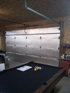 US Energy Premium Garage DoorInsulation Kit Two CAR GARAGE DOOR 16Wx7H16Wx8H