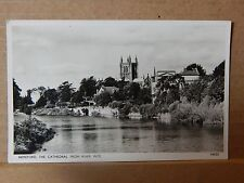 Postcard Hereford Cathedral From River Wye unposted   xc2
