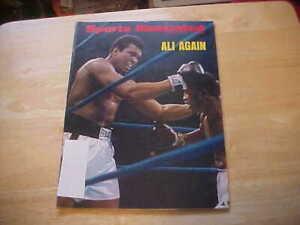 Ali Again  Feb. 4, 1974 Sports Illustrated  Muhammad Ali